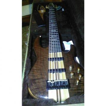 Custom Carvin LB76W 6 string bass Walnut