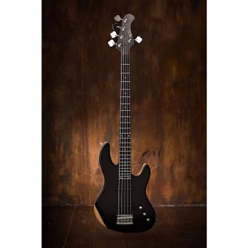 Custom Wolf  5 String Hazz bass Ebony Top