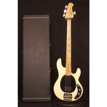 Custom 1979 Pre Ernie Ball Fender era Olympic White Music Man Stingray electric bass guitar all original