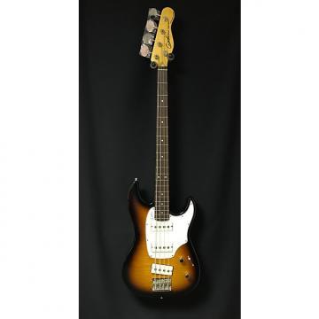 Custom Godin Shifter 4 String Bass Vintage Burst Flame High Gloss