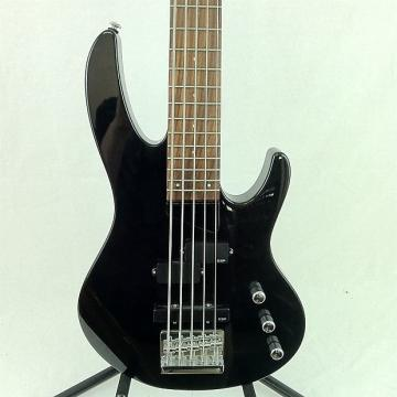 Custom Ltd B-55 Bass Guitar Black