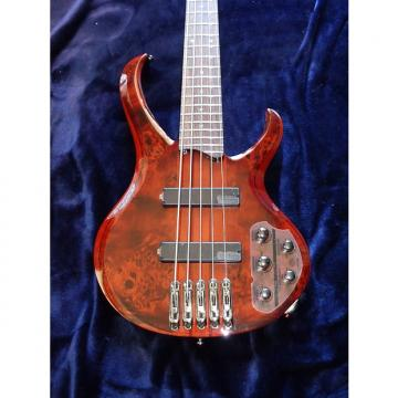 Custom Ibanez BTB775 2012 Crimson Red 5 String Bass Guitar Bartolini