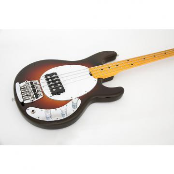 "Custom Ernie Ball Music Man ""Old Smoothie"" 40th Anniversary StingRay 2016 Chocolate Burst"