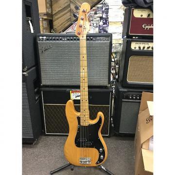 Custom Fender  precision bass  1978 natural