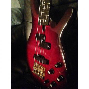 Custom Yamaha TRB-4P 1990's Red Burst