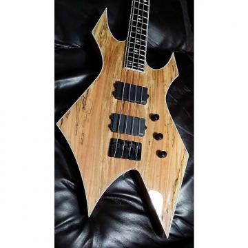 Custom BC Rich Paolo Gregoletto Warlock Neckthru 2015 Spalted Maple Gloss