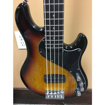 Custom Squire Deluxe Dimension Bass V - Sunburst