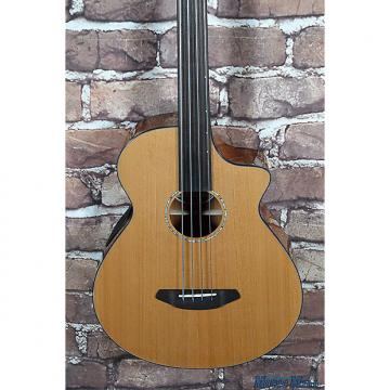 Custom B-Stock Breedlove Solo Fretless Acoustic Electric Bass Guitar w/Gig Bag