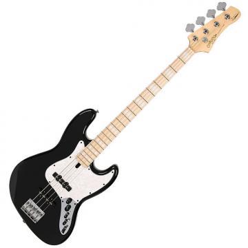 Custom Corona MLD4 Melvin Lee Davis Signature 4 String Jazz Bass Black Active Boost Selected Alder
