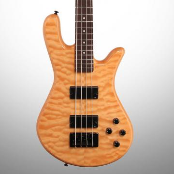 Custom Spector Legend 4 Classic Electric Bass, Natural Gloss