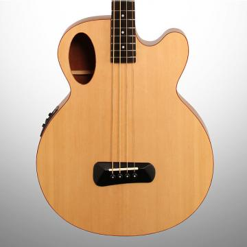 Custom Spector Timbre Acoustic-Electric Bass, Natural (with Gig Bag)