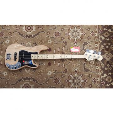 Custom 2016 Fender American Elite Precision Bass Ash Natural with Case and Professional Setup!