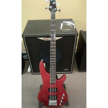 Custom Ibanez Soundgear SRX 300 Active Candy Apple Red