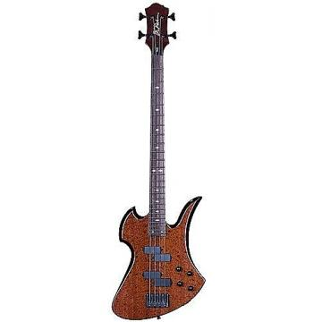 Custom B.C.RICH M'BIRD BASS MK3 QUILT MAHOGANY