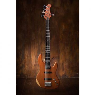 Custom Wolf 5 string Jazz Bass Solid Bubinga Top [neck through]