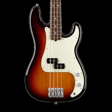 Custom Fender American Professional Precision Bass with Rosewood Fingerboard - 3 Color Sunburst with Case