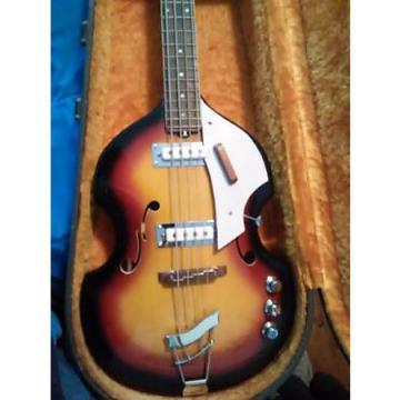 Custom Vox V-250 4-String Electric Violin Bass Guitar 1965