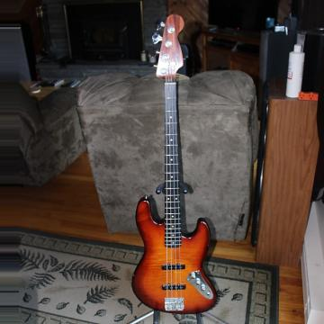 Custom GA Assembled Jazz Bass 2009 WineBurst