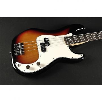 Custom Fender Standard Precision Bass Brown Sunburst 0146100532 (013)
