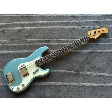 Custom Peterbuilt Precision Bass  Ford Mustang 1967 Brittany Blue