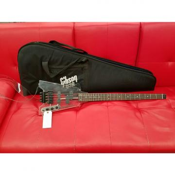 Custom Steinberger Replica Acrylic Headless Bass Guitar with Bag and Clear Guitar Strap