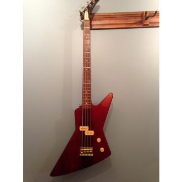 Custom Arbor Explorer Bass 1980 Amber Red