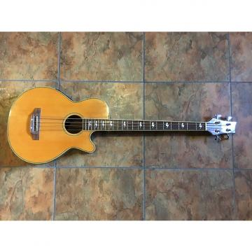 Custom Surf City Acoustic Electric Bass Guitar 4 String NICE