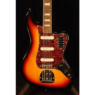 Custom Squier Vintage Modified Bass VI 3-Color Sunburst