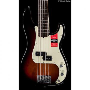 Custom Fender American Pro Professional Precision Bass V 3-Tone Sunburst Rosewood (114)