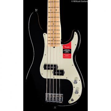 Custom Fender American Pro Professional Precision Bass V Black Maple (148)