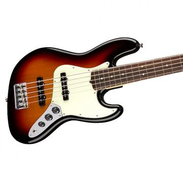 Custom Fender American Professional Jazz Bass V, 3-Tone Sunburst, Rosewood Board, 5-String - 0193950700