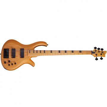 Custom Schecter Riot 5-Session Aged Natural Satin ANS *New* 5-String Bass + FREE GIG BAG