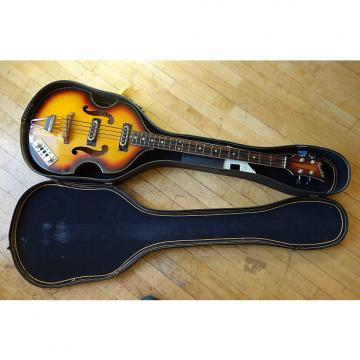 Custom Univox Maestro Violin Bass 2 with Softshell Case
