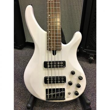 Custom Yamaha TRBX505 5-String Bass 2016 Trans White Satin
