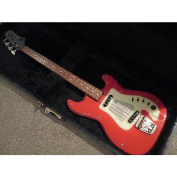 Custom Hagstrom Futurama bass sixties red