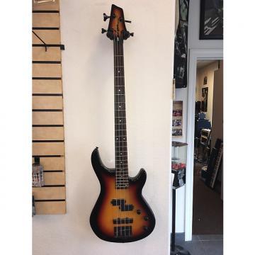 Custom Washburn LB-40 Bass 3 Color Sunburst