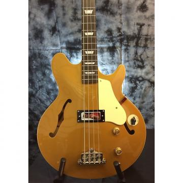 Custom Epiphone  Jack Casady Signature Bass in Metallic Gold
