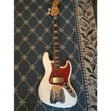 Custom Fender Jazz Bass  1969 Olympic White