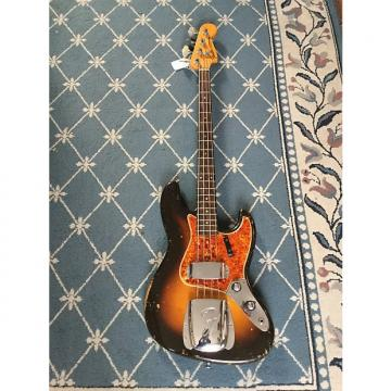 Custom Fender Jazz Bass 1960 2-Tone Sunburst
