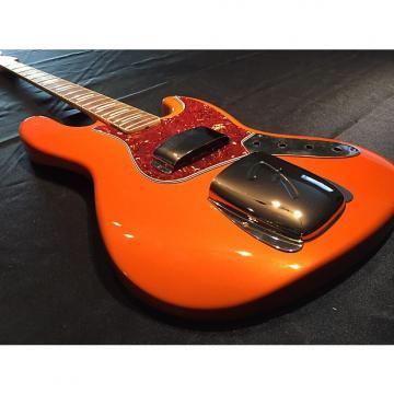 Custom Jazz Bass Blocked And Bound Neck Custom Painted Tangalo Jazz Tangalo