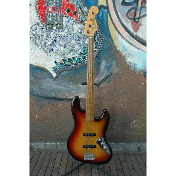 Custom Fender Tribute Jaco Pastorius Fretless Jazz Bass 2010 3 Tone Sunburst