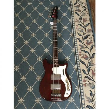 Custom Epiphone Embassy Bass Deluxe 1967 Cherry