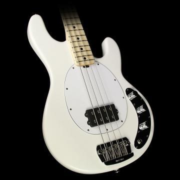 Custom Ernie Ball Music Man StingRay Electric Bass Guitar w/ Matching Headstock White