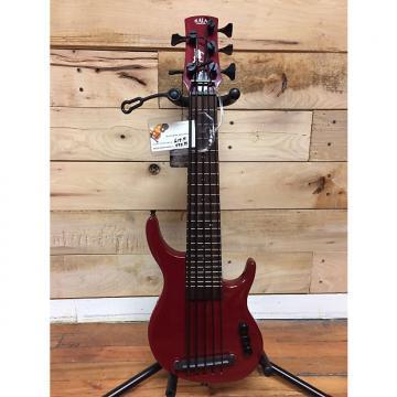 Custom Kala U-Bass Solid Body 5 Fretted Bass Red