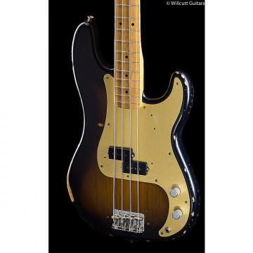 Custom Fender Road Worn '50s Precision Bass 3-Tone Sunburst (959)