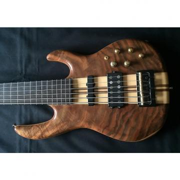 Custom 6 String Fretless, Claro Walnut Series, Active/Passive Electronics, Neck Through Body