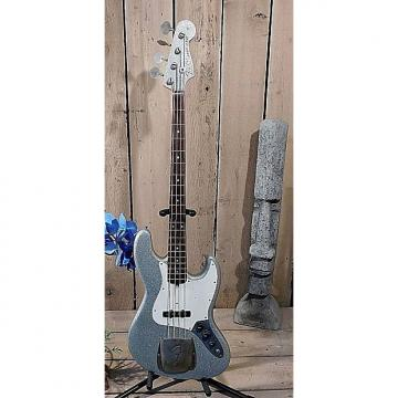 Custom Nash JB-63 Jazz Bass 2007 Silver Sparkle WOW!