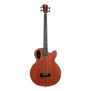 Custom Spector Timbre Series Acoustic Electric Bass Guitar Mahogany