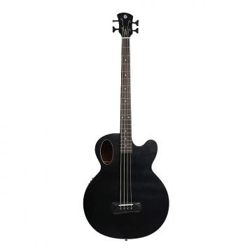 Custom Spector Timbre Series Acoustic Electric Bass Guitar Black