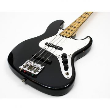Custom Fender Geddy Lee Signature Jazz Bass Black Made in Japan, upgraded bridge and hard case